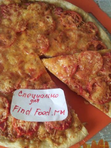 Домашняя пицца с сосисками рецепт с фото 6-го шага