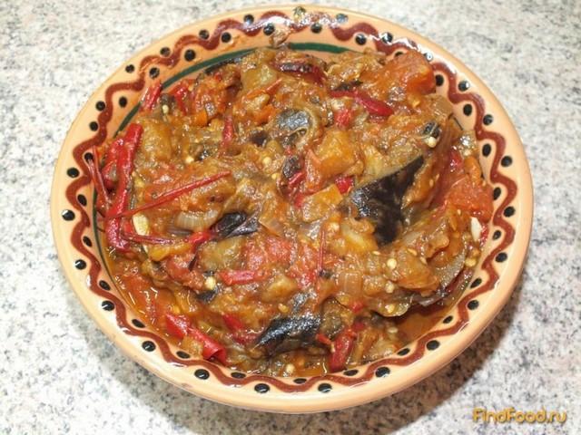Рецепт Баклажанная икра по-южнорусски рецепт с фото