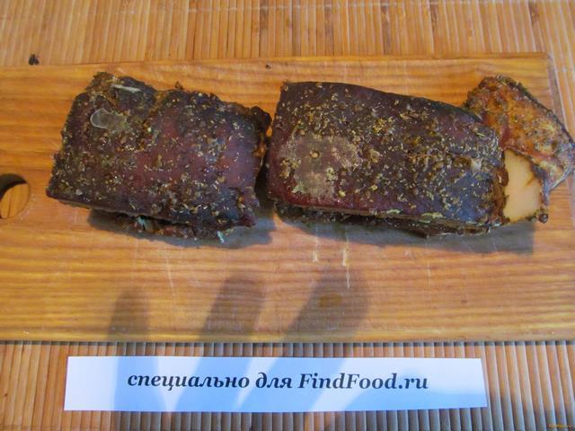 Свиная грудинка в луковой шелухе рецепт с фото 9-го шага