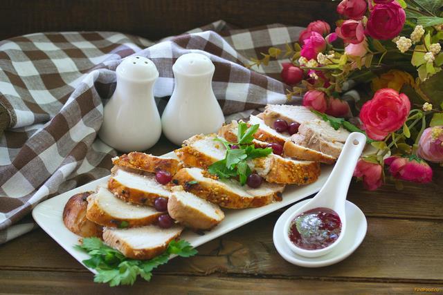 Рецепт Пастрома куриная маринованная в вине рецепт с фото