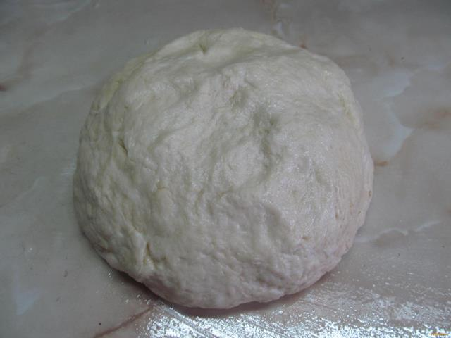 Пирожки на кислом молоке с горохом рецепт с фото 6-го шага