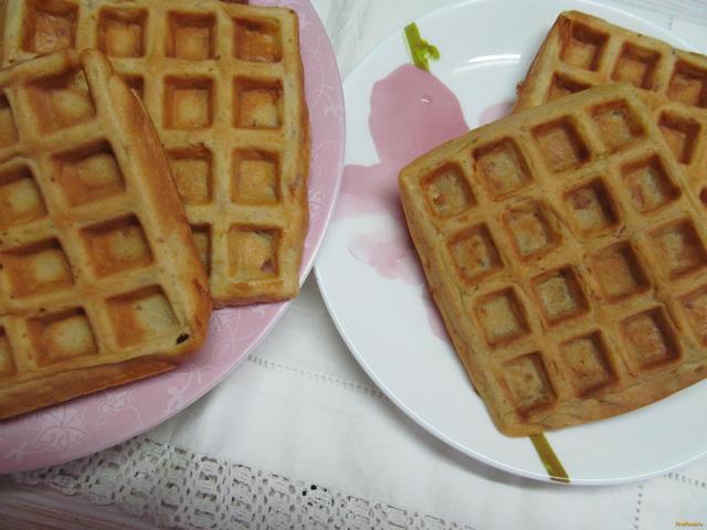 Рецепт Вафли закусочные рецепт с фото
