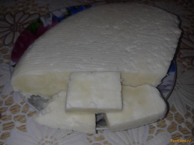 Рецепт Брынза из молока и уксуса рецепт с фото
