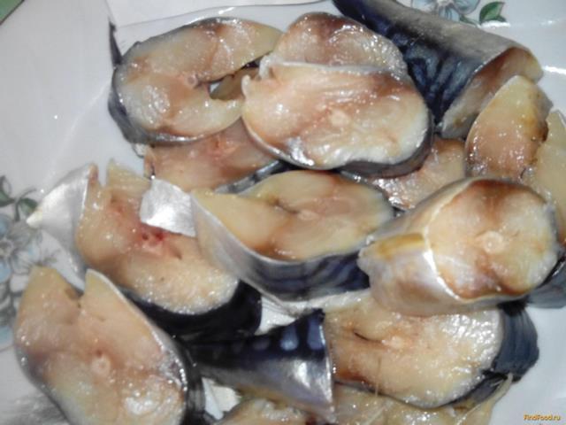 Рецепт Соленая скумбрия с кориандром и перцем рецепт с фото