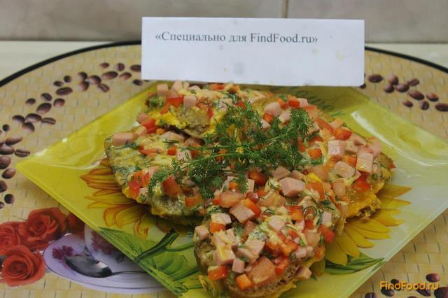 Рецепт Горячие бутерброды на завтрак рецепт с фото
