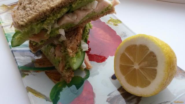 Рецепт Бутерброды с авокадо рецепт с фото