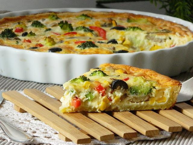 Овощные пироги рецепты 184