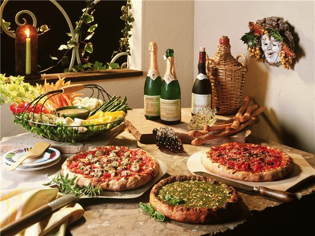 Что такое пицца? Виды пиццы